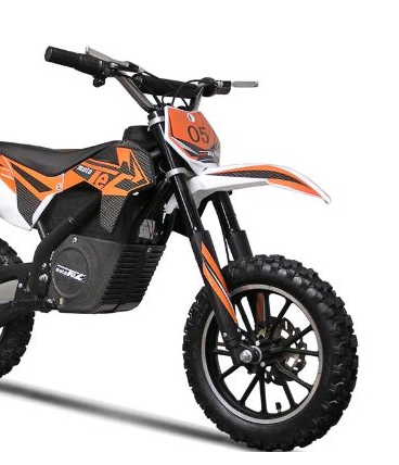 MotoTec Twist Grip Electric Dirt bike