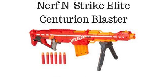 Nerf N-Strike Elite Centurion Blaster Review