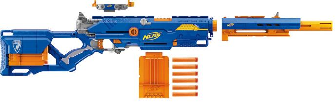 Nerf N-Strike Long strike CS-6 Dart Blaster