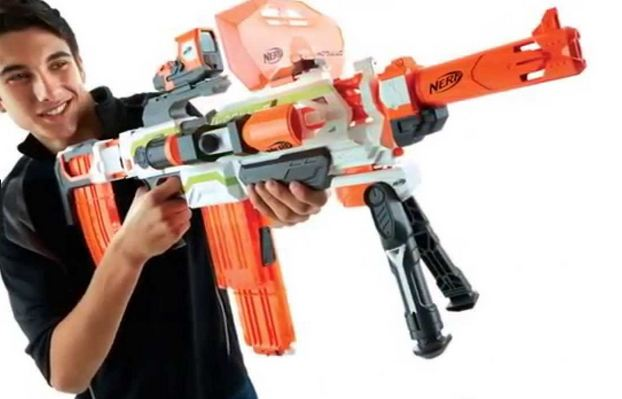 Nerf N-Strike Modulus ECS-10 blaster Reviews