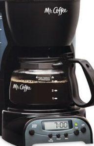 MR COFFEE DRX5 PROGRAMMABLE COFFEE MAKER
