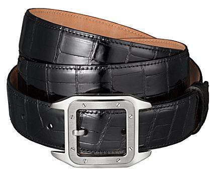 Cartier Crocodile Leather belts