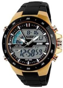 SKMEI Seven Color Changeable watch