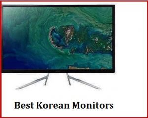 best korean monitors