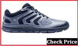 Ekron men's black charcoal working shoes
