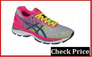 asics gel nimbus 18 womens black
