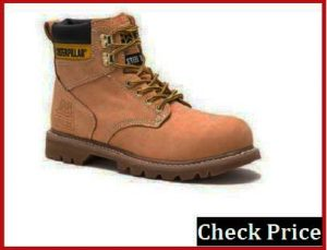 caterpillar steel toe boots review