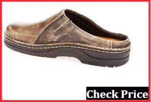 naot men's fiord mule work shoes