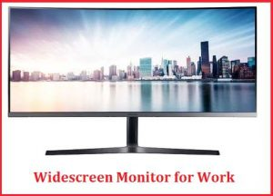Widescreen Monitor for Work