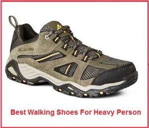 best walking shoes for heavy person