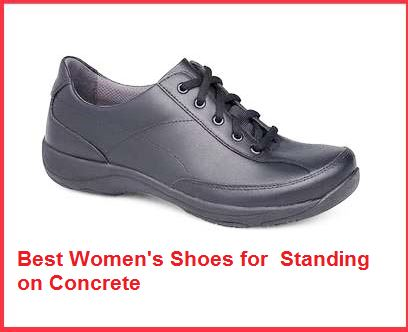 best women's shoes for standing on concrete all day