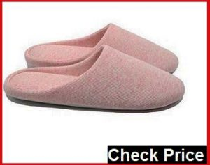 Ofoot Women's Warm Clog Slippers