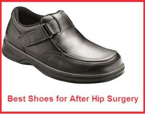 best shoes for after hip surgery
