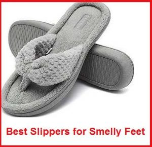 best slippers for smelly feet